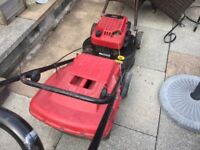 Mountfield HP470 Petrol Lawn mower with instruction leaflet