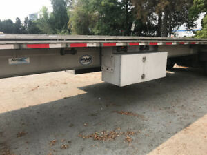Very nice 2012  48 ft flat bed trailer
