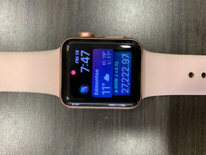 Apple Watch 3 38mm + Apple Care
