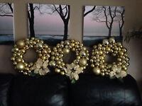 Bulb wreaths for Christmas or gift!
