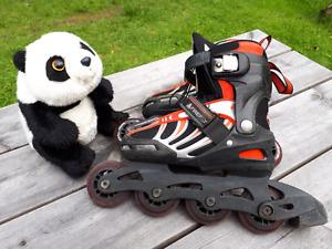Patins à roues alignées pour garçons taille 33-36