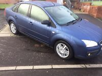 2006 registered focus ghia!1.6zetec 1lady owner for 8years!mot 2017!clean tidy economical car!