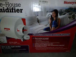 Honeywell Furnace Humidifier/Humidificateur centrale