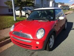 Mini Cooper --needs painted  or clear coat applied