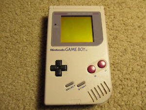 Original gameboy with two games