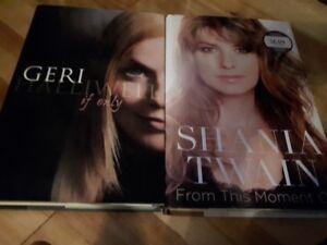 Biography : Shania Twain & Gerry Halliwell