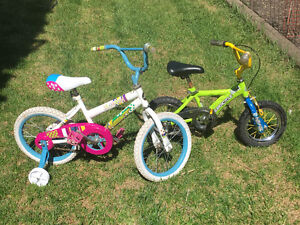 Boys and girls bikes for sale.  $20 each.