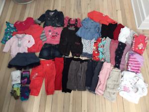 Lot vêtements 6-9 mois fille