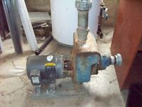 3hp water pump with phase converter NEW PRICE