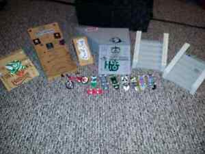 tech deck lot. ramps boards and bike