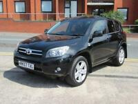 2007 57 Toyota RAV4 2.2 D-4D T180 TURBO DIESEL 4X4 MOT JUNE 2018 LEATHER FSH NAV