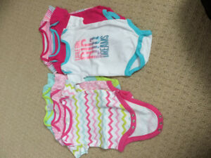 3-6 month girl onesies
