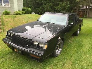 1987 Buick Grand National Tissu Coupé (2 portes)