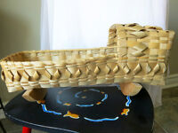 Hand Woven doll cradle