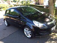 Vauxhall Corsa 1.4 SXI 2008 Black 69,000 miles MOT history