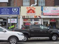 Established Takeaway Business For Sale - Busy Cheetham Hill Area - Excellent Location- Flat Included