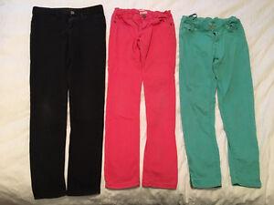 Pantalons jeans fille 12 ans