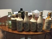 ANTIQUE BOTTLES and GINGER BEERS