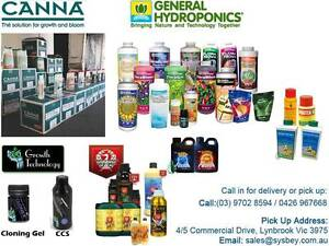 HYDROPONICS NUTRIENT ADDITIVES CANNA GENERAL HYDROPONICS BOOST Lynbrook Casey Area Preview