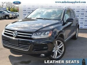 2014 Volkswagen Touareg 3.6L  Execline,Leather,Nav,Roof