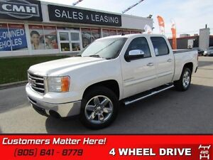 2012 GMC Sierra 1500 SLT  4X4, NAVIGATION, CAMERA, SUNROOF, LEAT