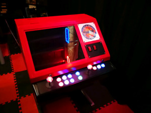 Beautiful 4 player arcade machine