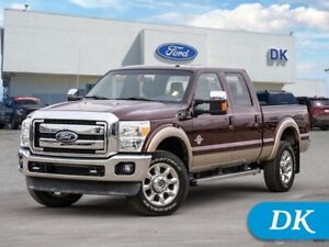 2011 Ford F-350 Super Duty Lariat  w/Extremely Low KM's!