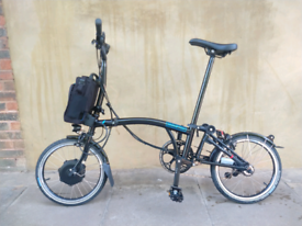 Brompton Electric M6L Folding Bicycle - Brand New 2020 Model