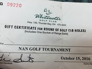 Whitewater Golf Course Free Round!!!