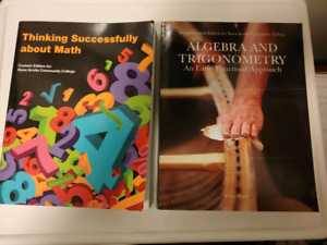 Math 1043 and 1046 Textbooks Complete with Student Access Codes