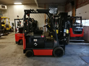 Toyota Electric Forklift like new! Delivery Included!