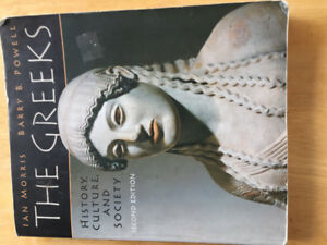 The Greeks. History, Culture and Society.   Second Edition