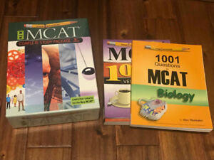 ExamKrackers MCAT Study Guide 9th Ed. & Practice Question Books