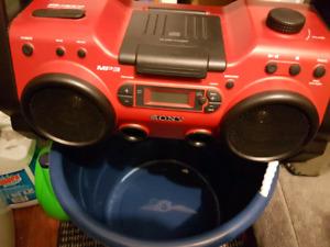 Amazing vintage Sony boombox!