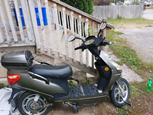 60v 800w modded ebike and heavy duty trailor