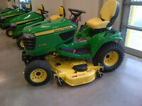 John Deere X700 Signature-Series Garden Tractors-From $216/Month