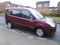 2012/62 FIAT DOBLO 1.4 MANUAL WHEELCHAIR ACCESSIBLE VEHICLE LOW MILEAGE
