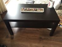 IKEA coffee Table in black for sale
