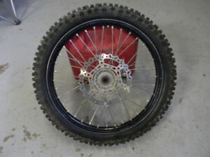2016 YAMAHA YZ 125/250 FRONT RIM COMPLETE FITS YZ125/250