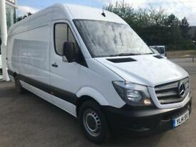 2014 Mercedes-Benz Sprinter 2.1 CDI 313 Extra High Roof Panel Van 4dr (LWB) Dies