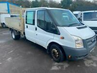 Ford Transit 2.2TDCi 350EF Double Cab Dropside pickup