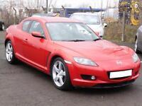 Mazda RX-8 1.3 ( 228bhp ) 2004, Red, 6 Months AA Warranty