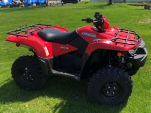 2018 KingQuad 750 AXi Red