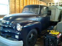 1954 Chevy 1500 1 1/2 ton grain truck. PRICE REDUCED