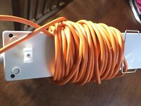 3 plug electric hook up with built in rcd