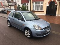 Ford fiesta 1.25, Service History, New 12 Months MOT