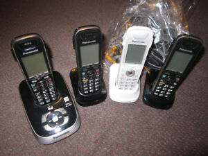 Panasonic Home Phone Systems with 2 to 4 handsets