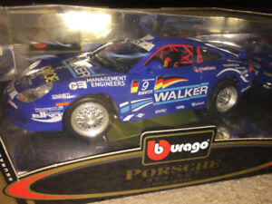 Burago Metal Porsche GT3 Cup Gold Collection