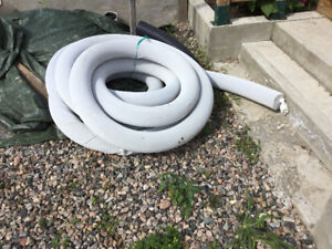 Covered Drainage Pipe
