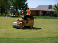 Lawn rolling / aerating / de-thatching / lawn cutting